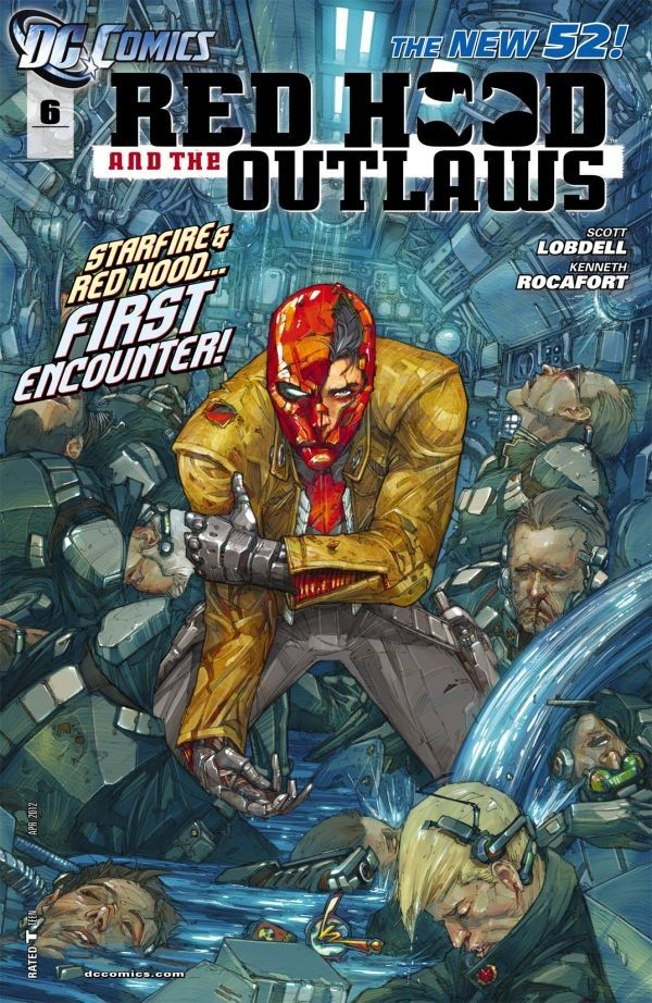 Red Hood and the Outlaws #6 #RedHoodAndTheOutlaws #New52 #DC