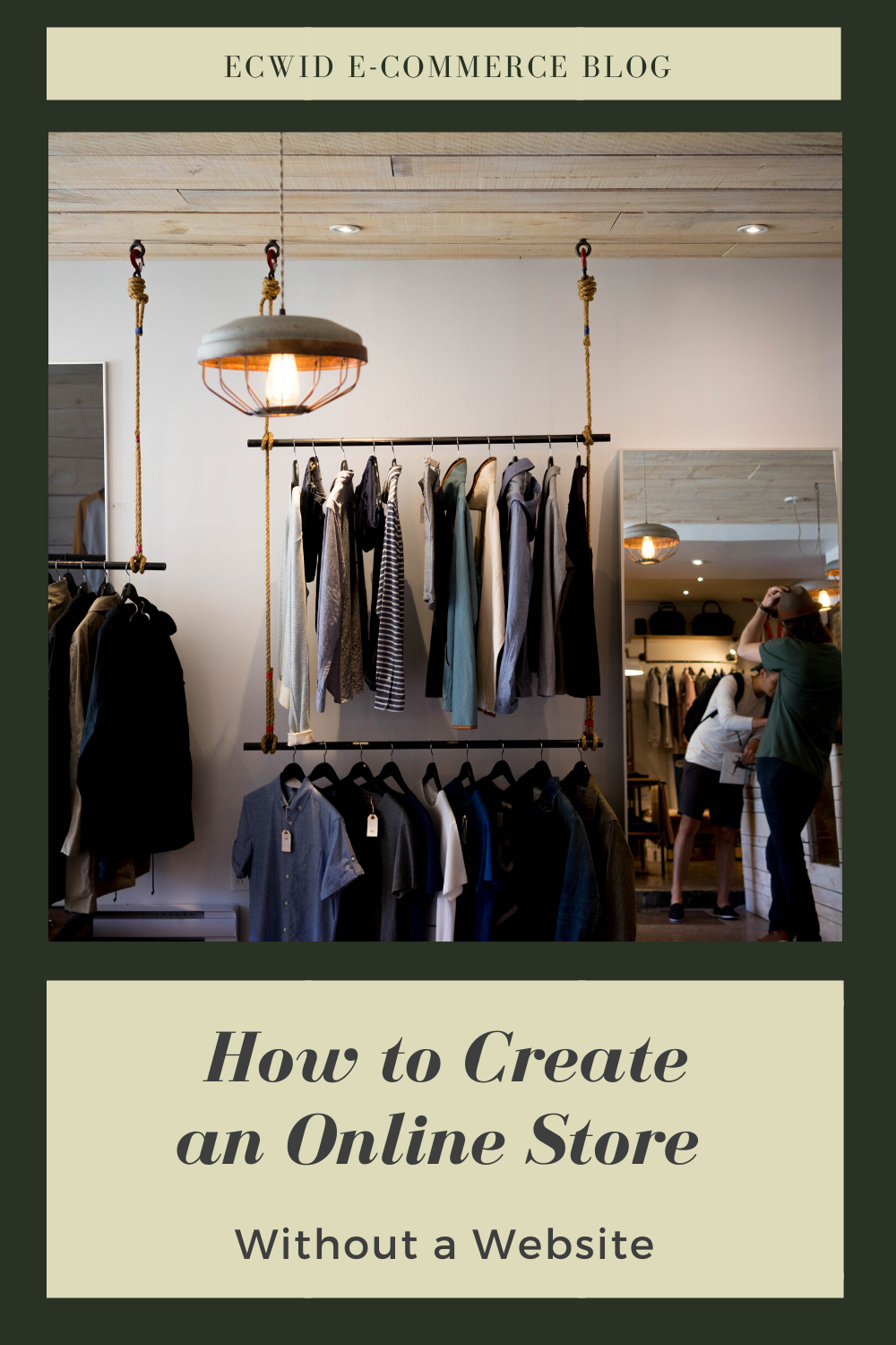 How to Create an Online Store Without a Website