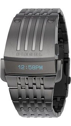 Diesel Men s Stainless OLED Display Watch - Bracelet - Mirrored Display 8666d0cbdc