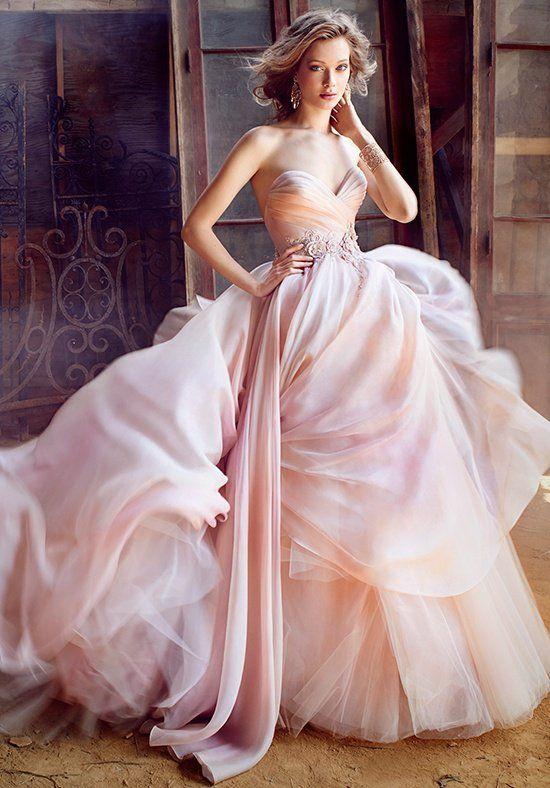 vestido de novia lazaro rosa – vestidos de punto 2019