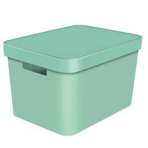 Decorative Large Bin   Mint   Room Essentials™