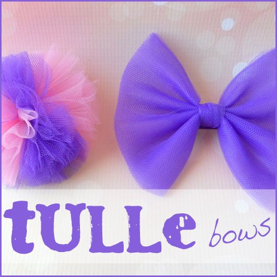 Blog - Tulle Hair Bows