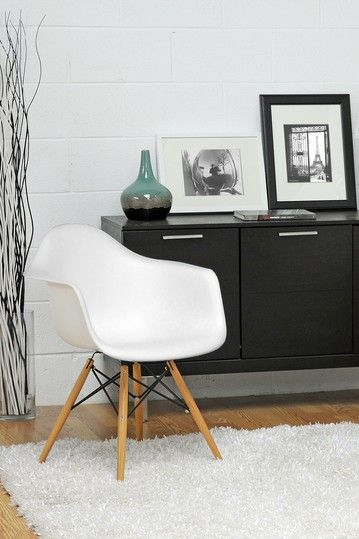 Bon 2 Chairs For $159... Pascal Plastic Mid Century Modern Shell Chair   White    Set Of 2 By W.I. Modern Furniture On @HauteLook