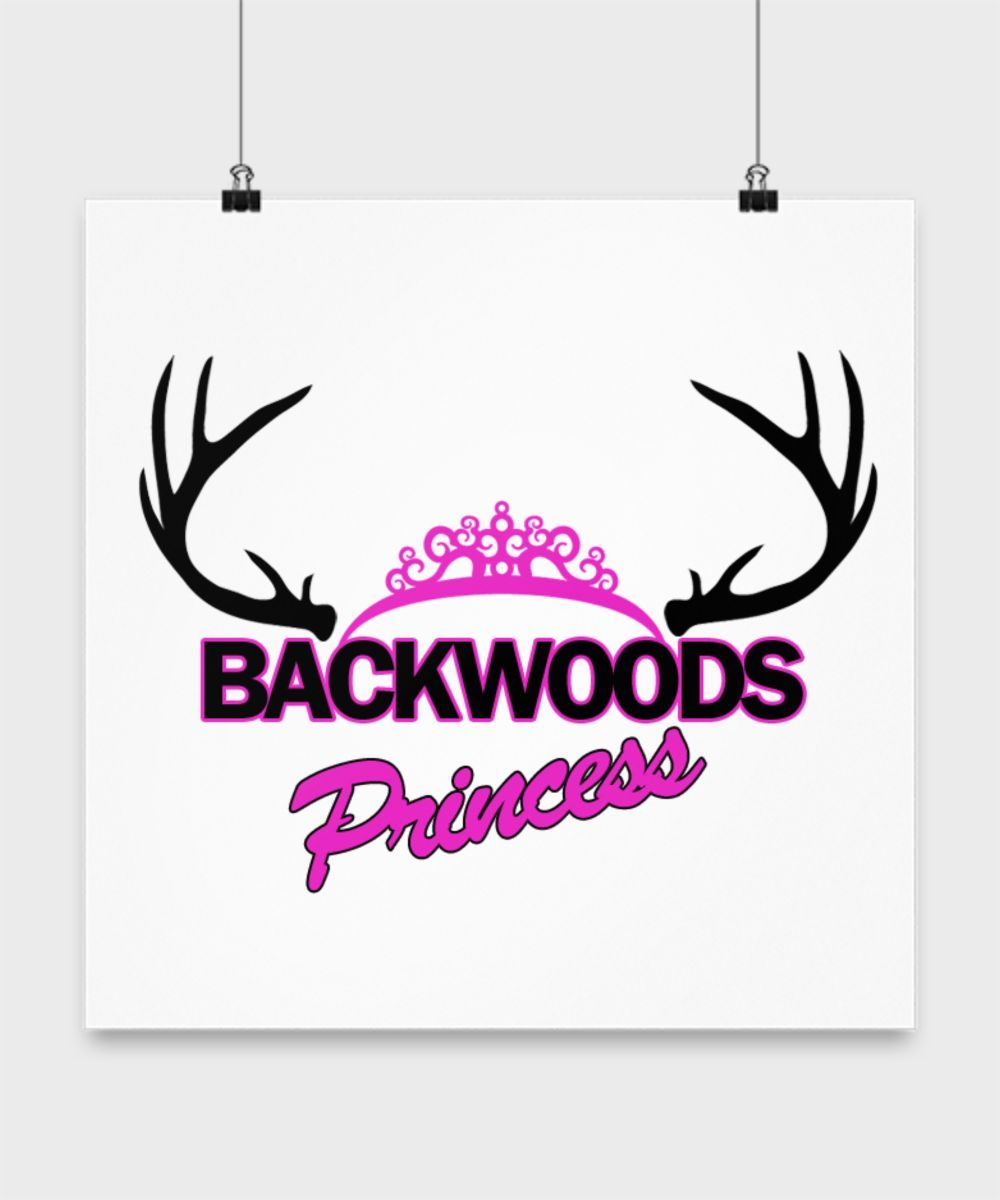 Backwoods Princess Poster
