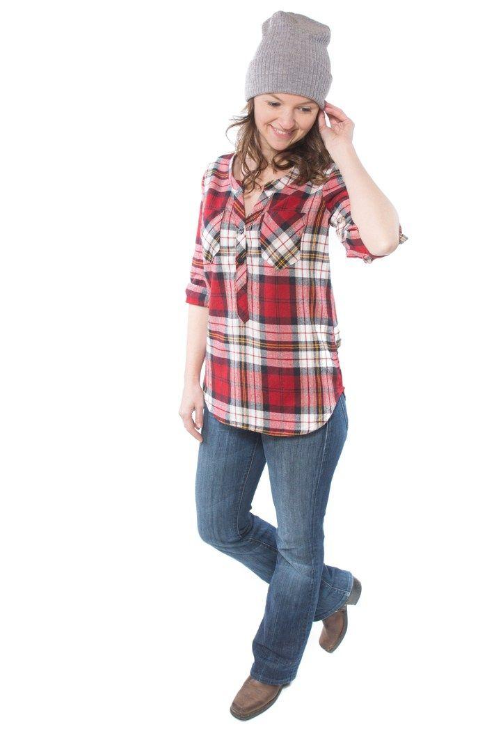 The Cheyenne Tunic | Clothing DIY | Tunic pattern, Hey june, Pattern