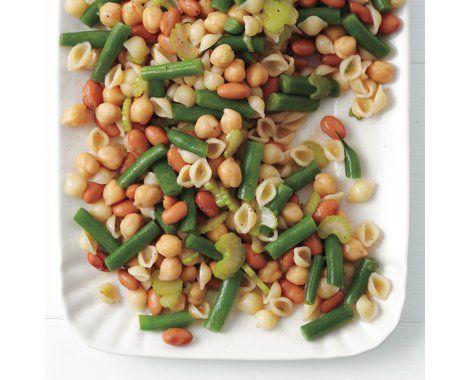 Three-Bean Pasta Salad Recipe | Food Recipes - Yahoo! Shine