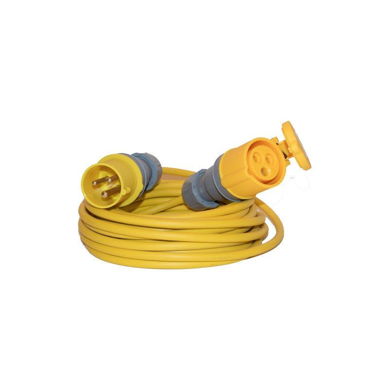 110v Yellow Extension Leads (16amp)