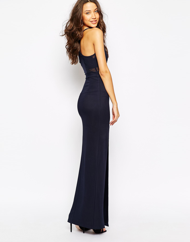 Us Asos Com True Decadence Tall Mesh Insert Maxi Dress With Thigh Split Candice Blackburn 5013526 Dresses Bodycon Evening Dress Maxi Dress [ 2880 x 2258 Pixel ]