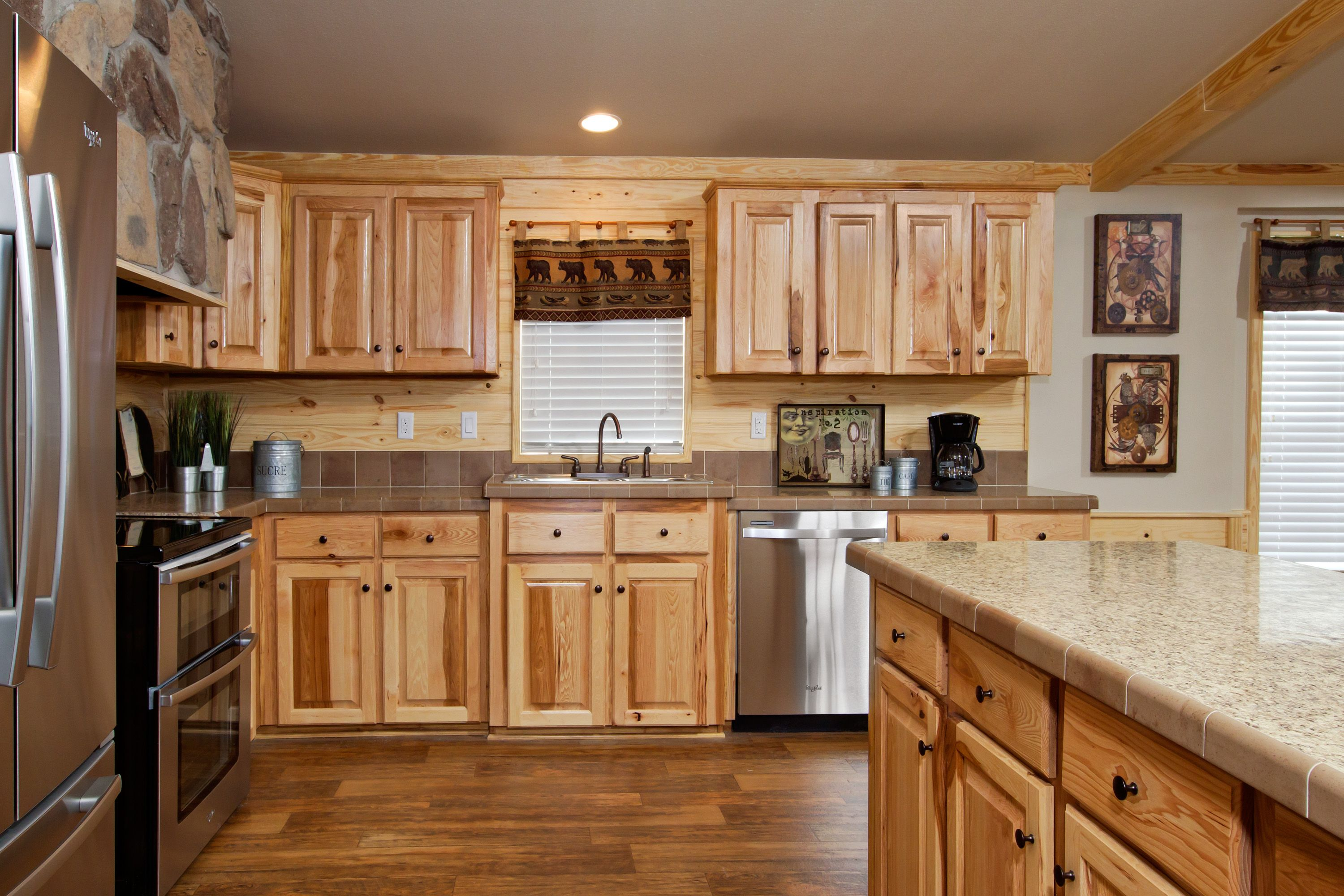 Best The Beachwood Kitchen Pine Mountain Accents Hickory 400 x 300