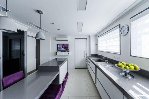 Apartamento na Mooca  Cozinha Projeto - Enzo Sobocinski Arquitetura