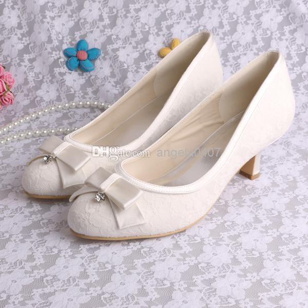 Wholesale Wedding Shoes Lace