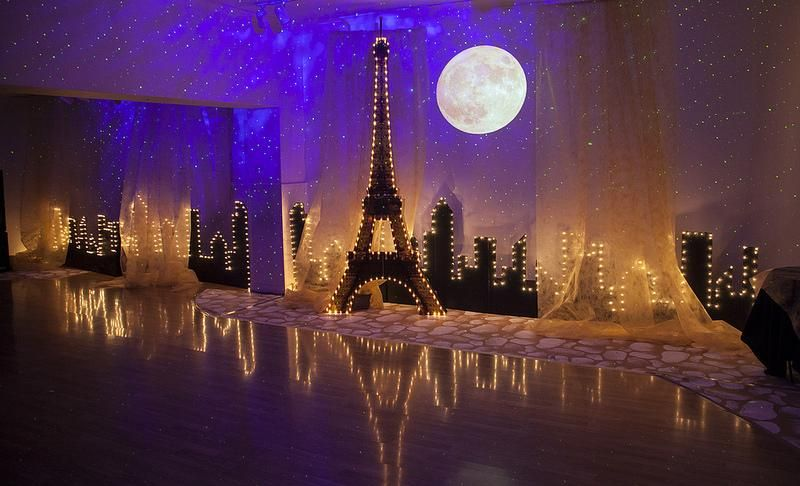 Starry Night Lighting For Special Occasions Prom Themes Paris