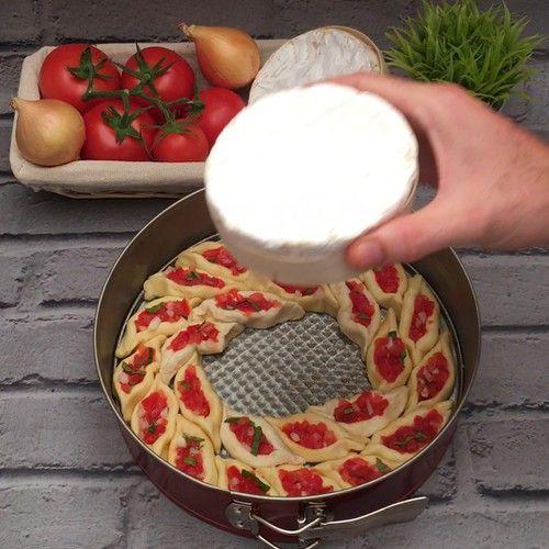 Les petites barques tomates #entreesrecettes