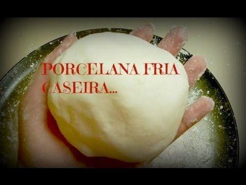 Tutorial - Como fazer massa de porcelana fria (biscuit) - YouTube                                                                                                                                                                                 Mais