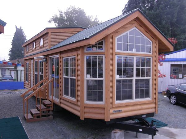 Big Tiny House On Wheels Tiny House Cabin Tiny House On Wheels Tiny House Nation
