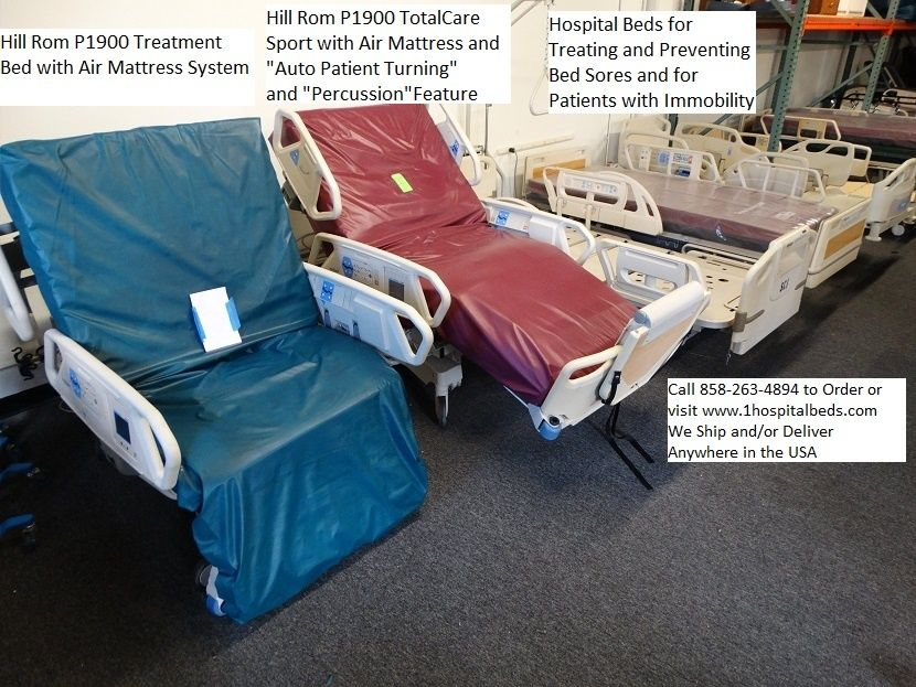 Used Hill Rom Hospital Beds Great For Hospitals Homes With Images Bed Sores