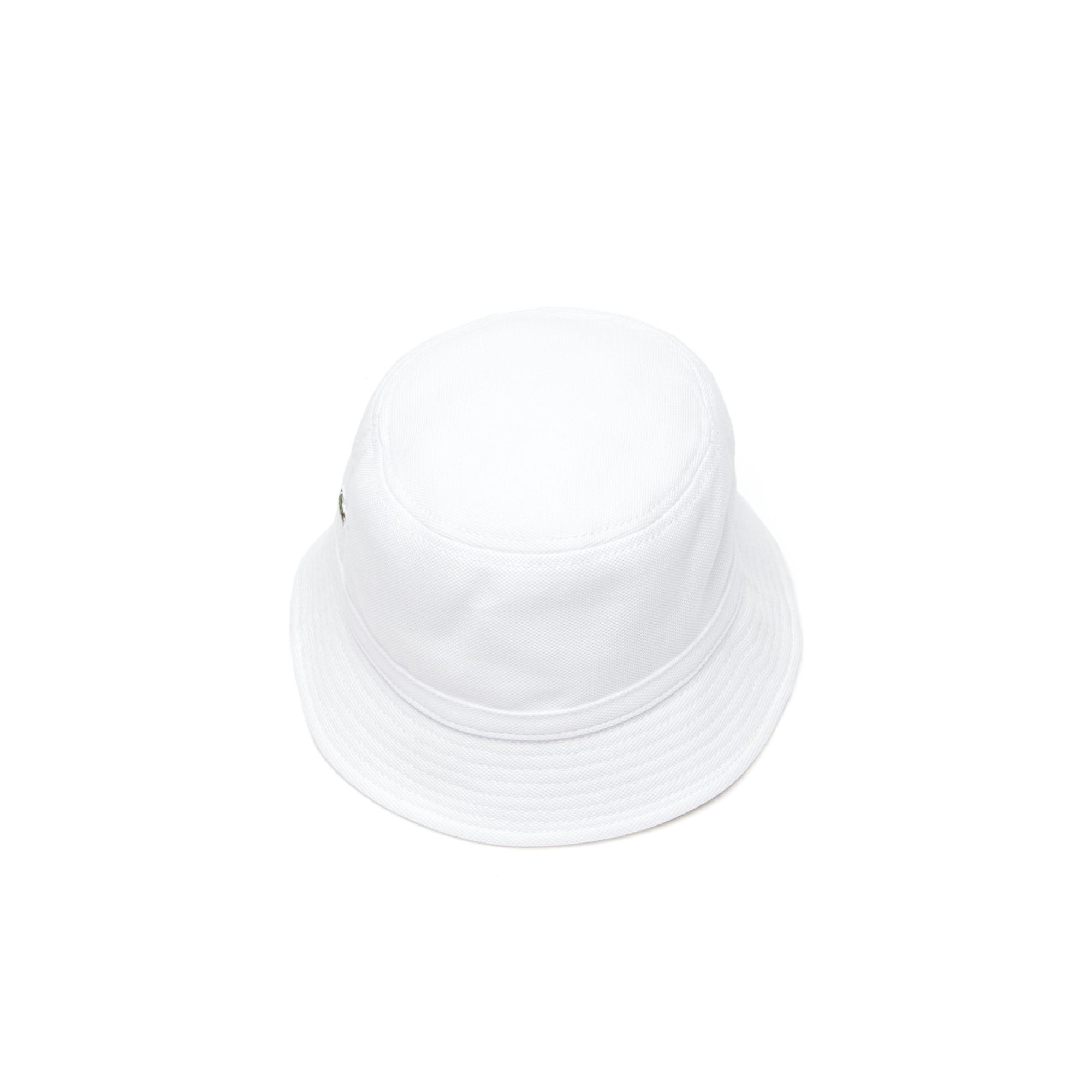 50810182 Lacoste Men's Cotton Piqué Bucket Hat - M | Products | Lacoste men ...