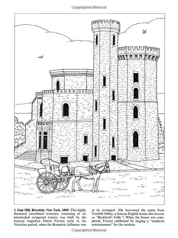 Victorian Houses Dover History Coloring Book Colour Architecture Coloring Books Victorian Homes