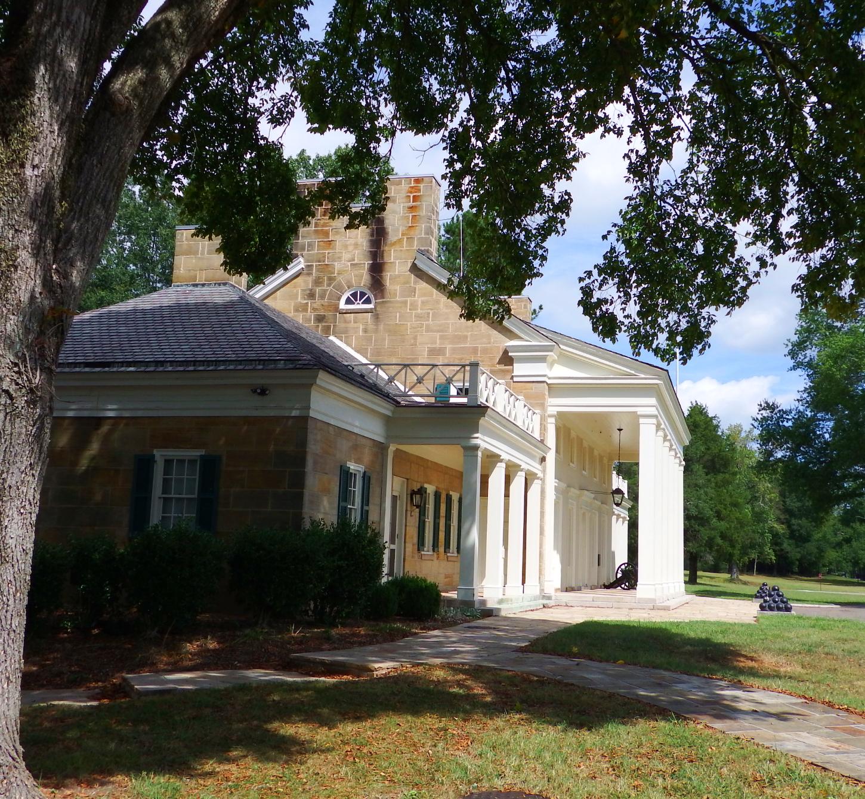 Chickamauga national battlefield visitorsu center also a fine