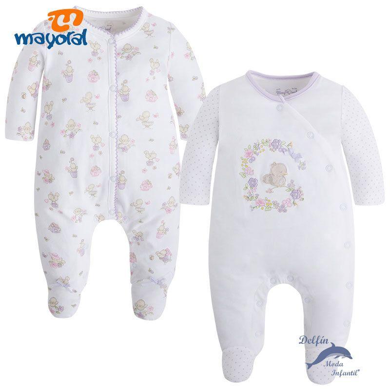 66d2a5335 Set de dos pijamas largos bebe niña MAYORAL NEWBORN lilas