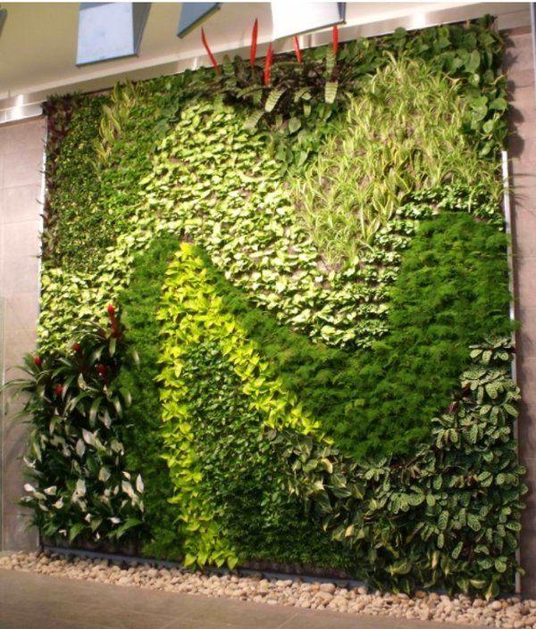 Espectaculares jardines verticales aptos para cualquier necesidad - diseo de jardines urbanos