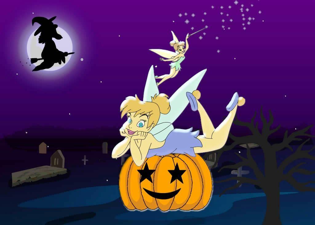 Animated Halloween Wallpaper Halloween Wallpaper Tinkerbell