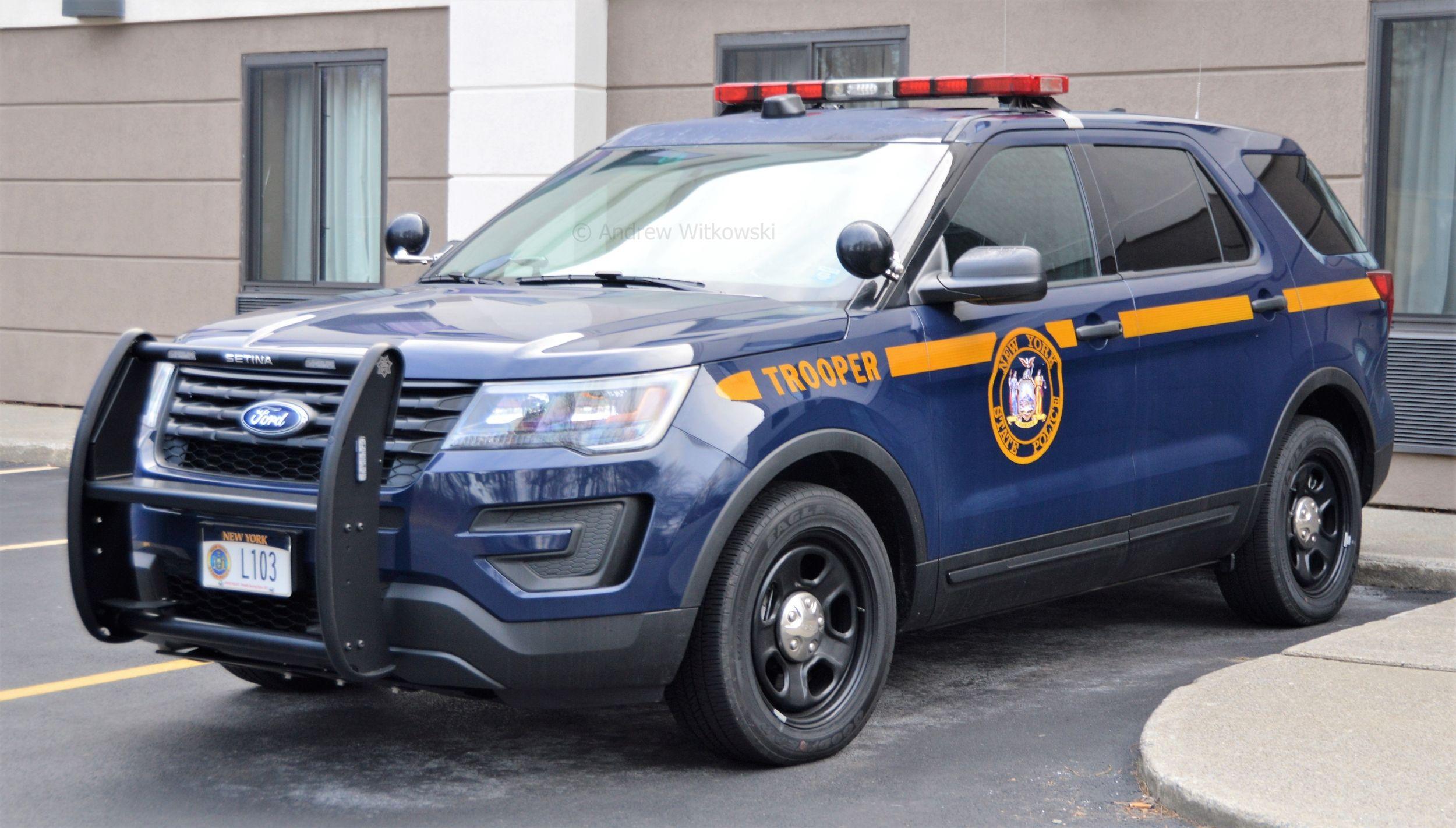New york new york state police ford police utility interceptor vehicle