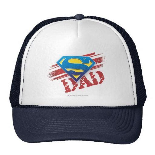 Super Dad Stripes. Producto disponible en tienda Zazzle. Accesorios, moda. Product available in Zazzle store. Fashion Accessories. Regalos, Gifts. #gorra #hat #heroe #hero #american #father #padre