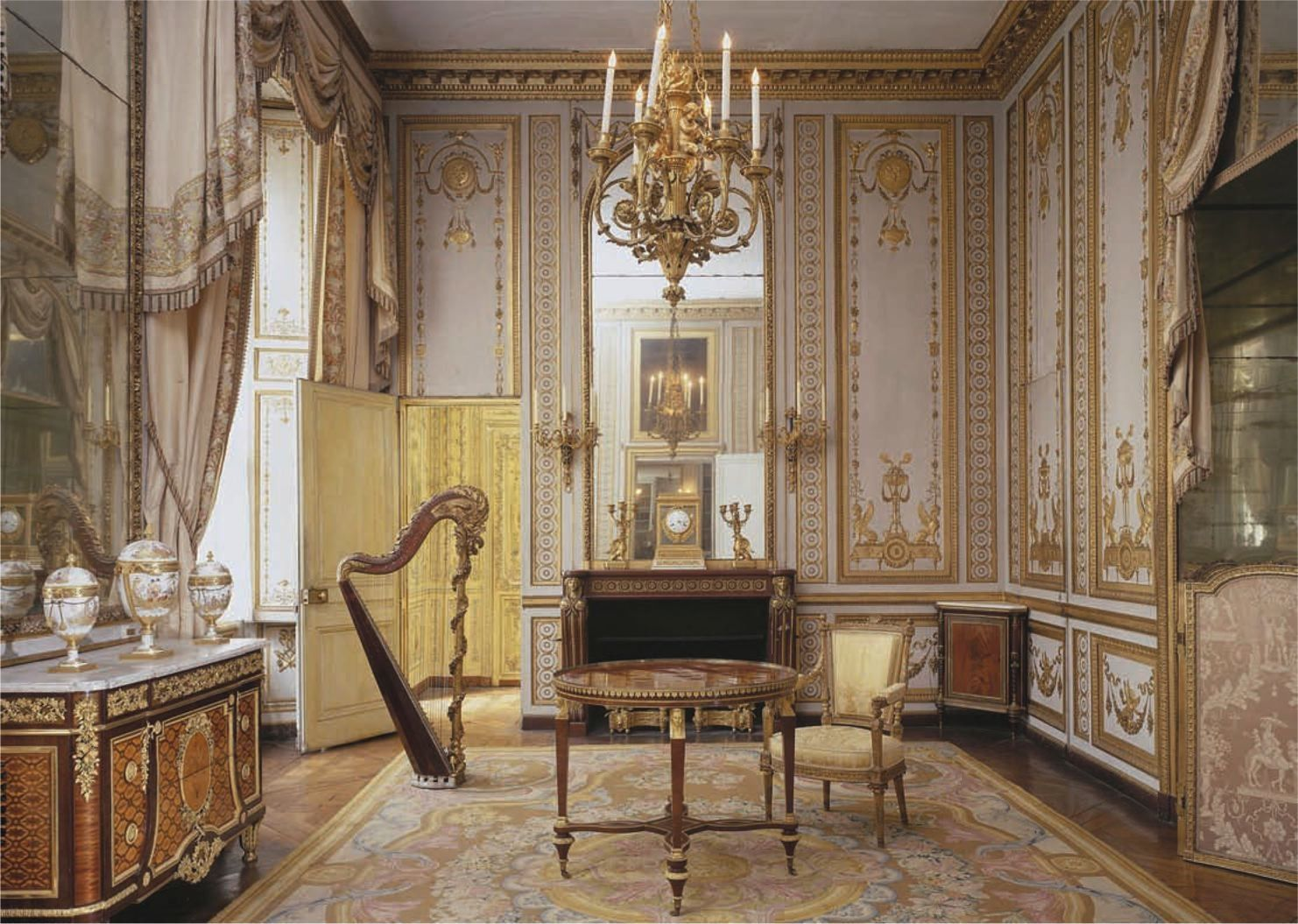 Neoclassical Interior Design French Neoclassical Louis Xvi Beauty And Beast Design