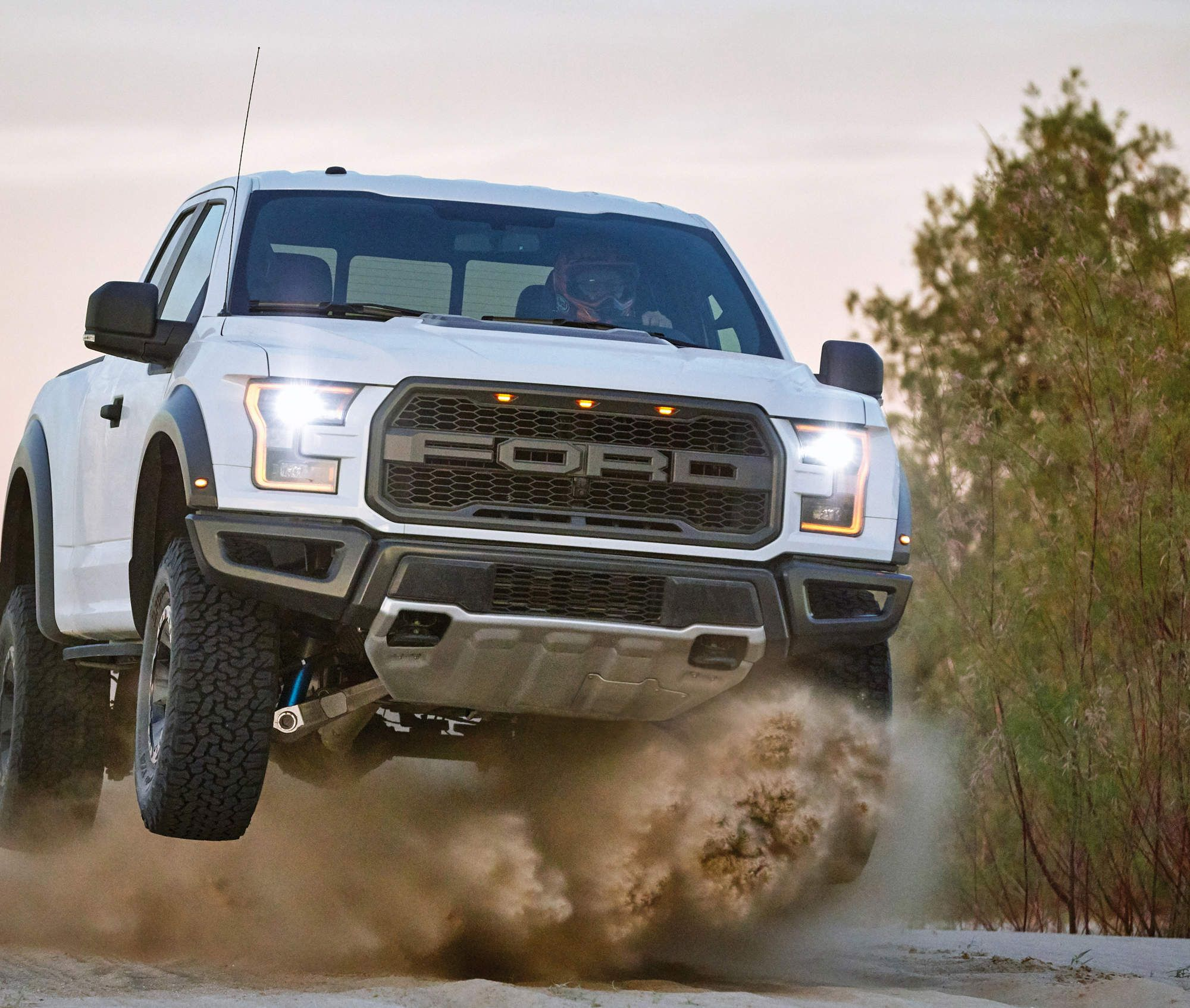 We drove the new 2017 ford raptor the most badass f 150 ever built