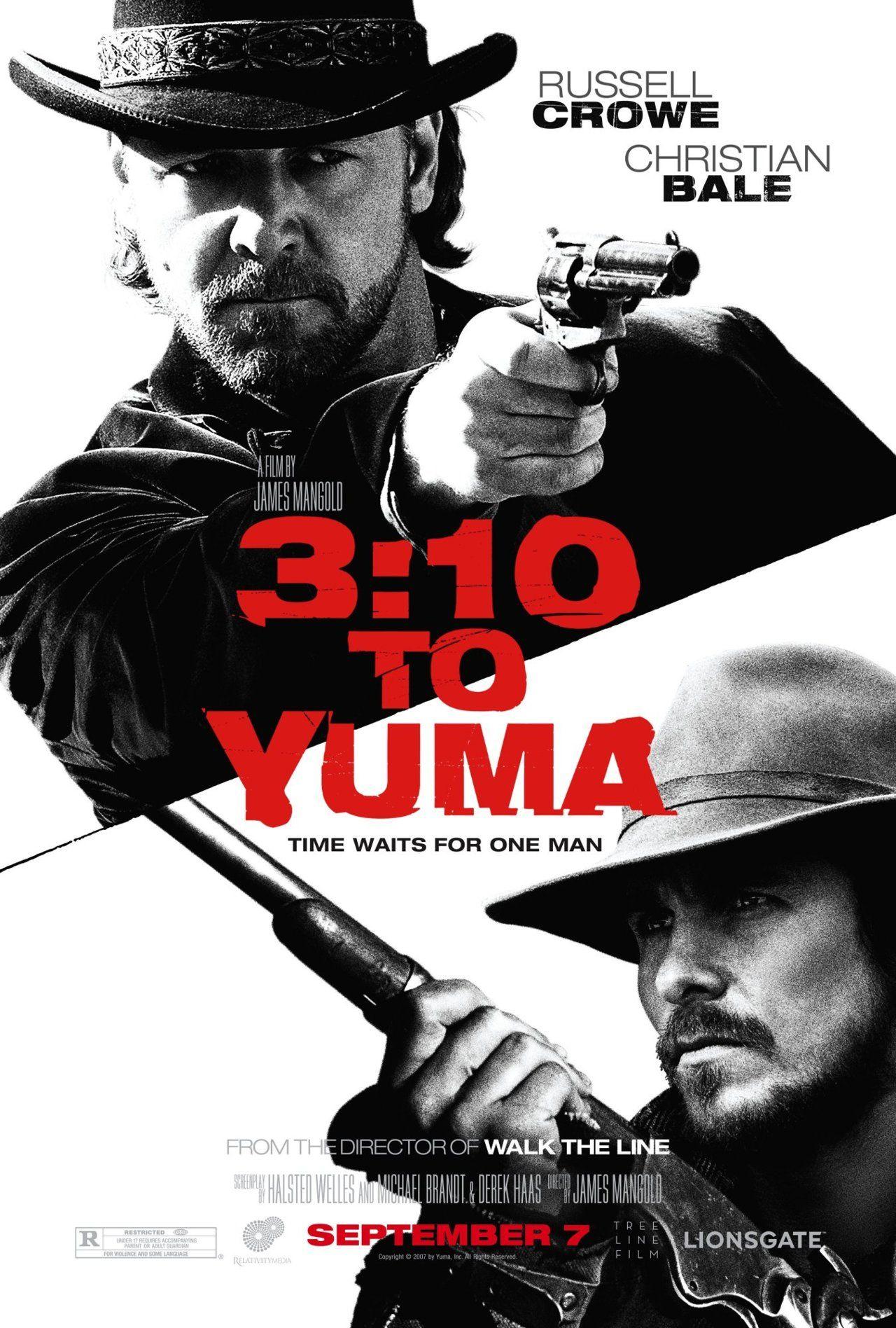 310 to yuma 2007 movie poster western movies yuma