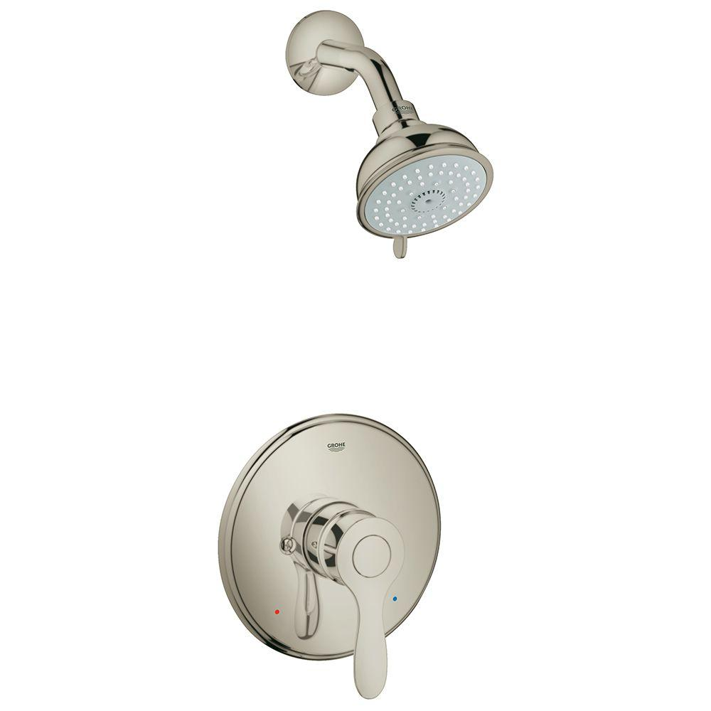 Grohe Parkfield 1 Handle 4 Spray Shower Faucet In Brushed Nickel