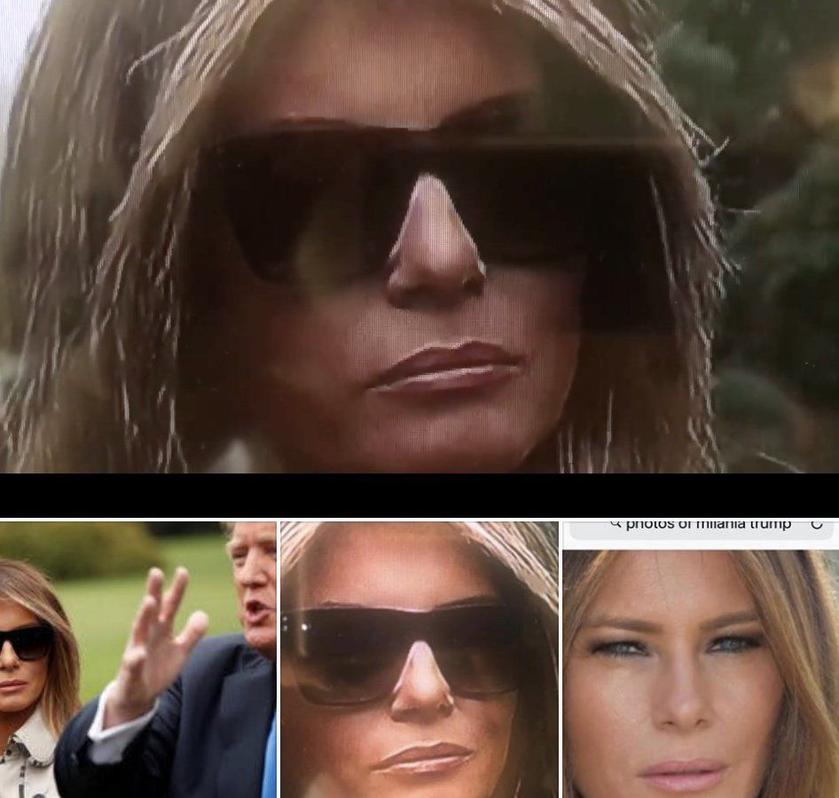 Does Melania Trump Use A Body Double Social Media Claims Go Viral Body First Lady Lady