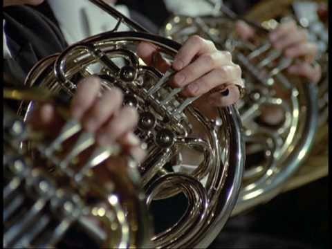 """Symphony No. 2 in C minor, """"Resurrection"""": Mov. 5, """"Im Tempo des Scherzo. Wild herausfahrend"""" Gustav Mahler (1860-1911) Conducted by Leonard Bernstein Sheila..."""