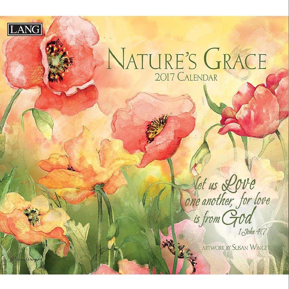 Susan Winget Nature\'s Grace 2018 Wall Calendar | Walls and Decoupage