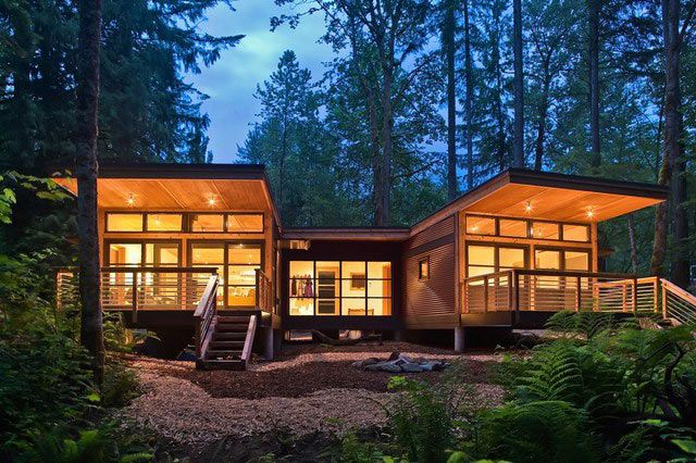 10 Modern Prefab Homes We D Love To Live In Design Milk Modern Prefab Homes Prefab Cottages Prefab Homes