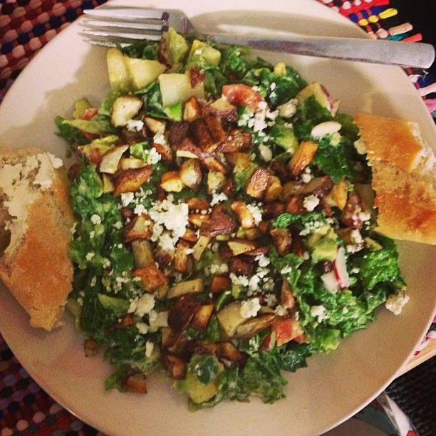Food Ideas Greens Ovenroastedpotatoes Avocado Bluecheese Visit My Instagram Inspiretheelifestyle For All