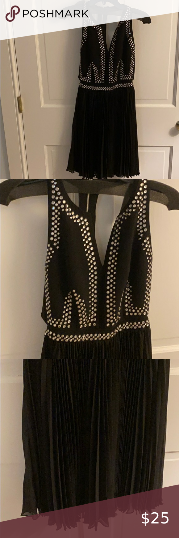 Rebecca Taylor Black Rhinestone Dress Rhinestone Dress Black Rhinestone Rebecca Taylor Dress [ 1740 x 580 Pixel ]