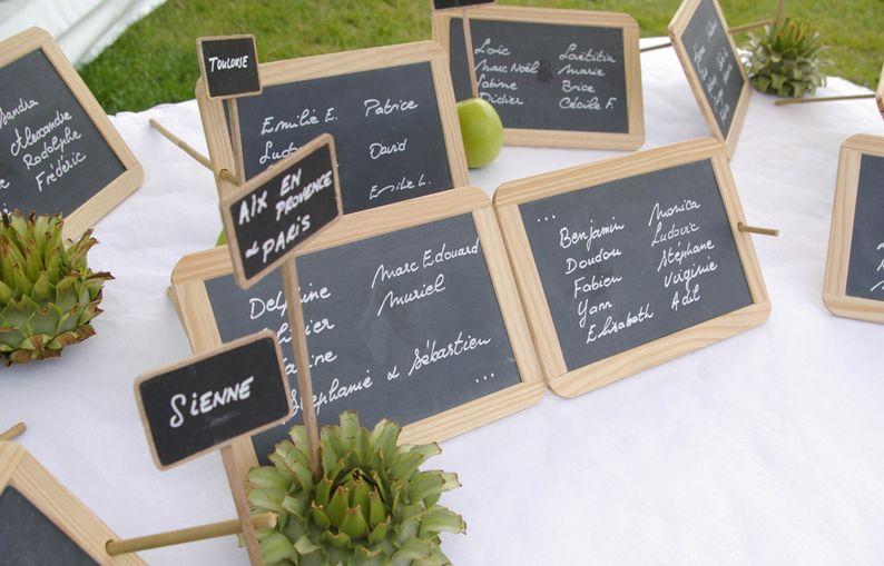 mariage plan de table plan de table mariage pinterest. Black Bedroom Furniture Sets. Home Design Ideas