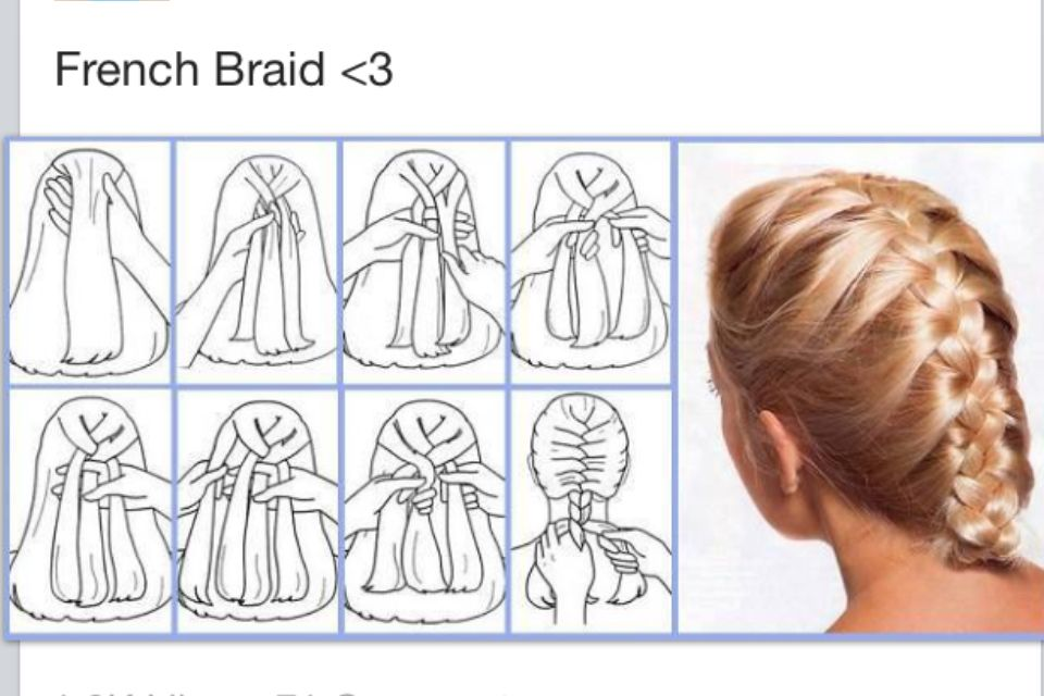 Diy french braid hair pinterest french braid work hair and diy french braid solutioingenieria Gallery