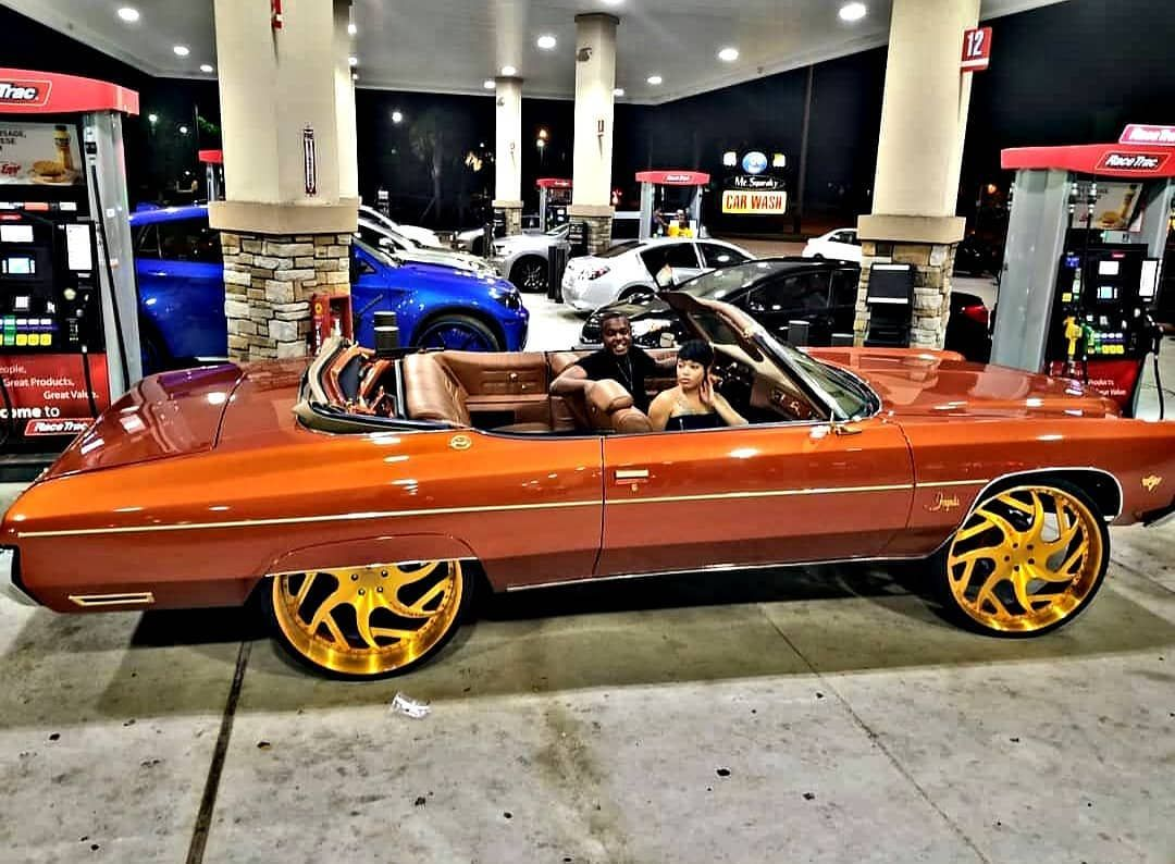 ᴛʜᴜᴍʙꜱ Or Subscribe To Donk Planet Youtube Link In Bio Thephillips15 Ya Me Donkplanet Donk Donk Cars Custom Cars Paint Chevy Muscle Cars