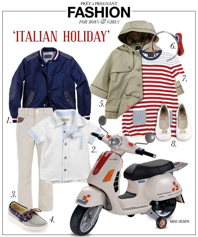 4d563daf4 Fashion for Kids: Italian Holiday - Pret a Pregnant | fashion 101 ...