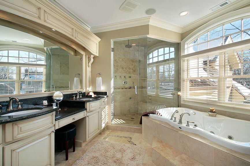 101 Primary Bathrooms With Two Sinks Photos Bathroom Design Luxury Luxury Bathroom Dream Bathrooms