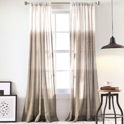 Dkny Urban Ombre Window Curtain Panel Ombre Curtains Curtains