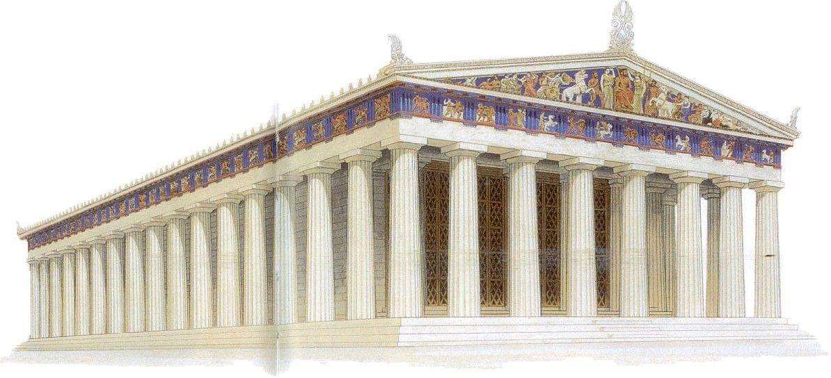Partenon Reconstruccion Arte Griego Epoca Clasica S V Iv A C Arte Griego Grecia El Partenon