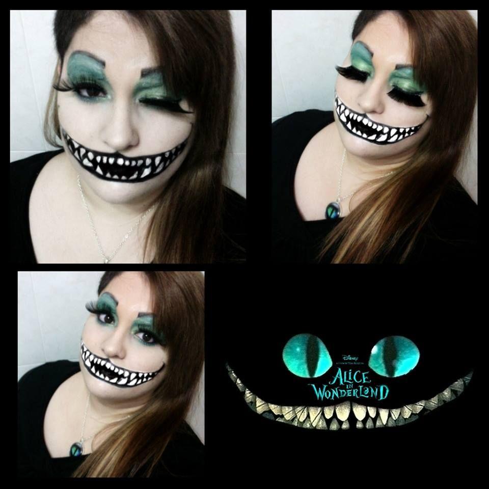 fantasy makeup alice in wonderland  Tim Burton  Cheshire Cat