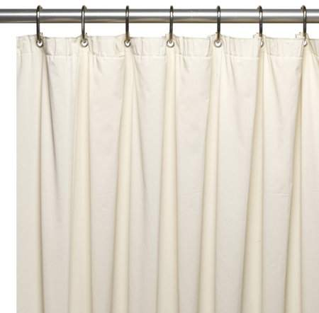 Extra Long 72 X 78 Mildew Resistant 10 Gauge Vinyl Shower Curtain Liner W Metal Grommets And Reinforced Mesh Header In Bone Walmart Com Vinyl Shower Curtains Shower Curtain Curtains