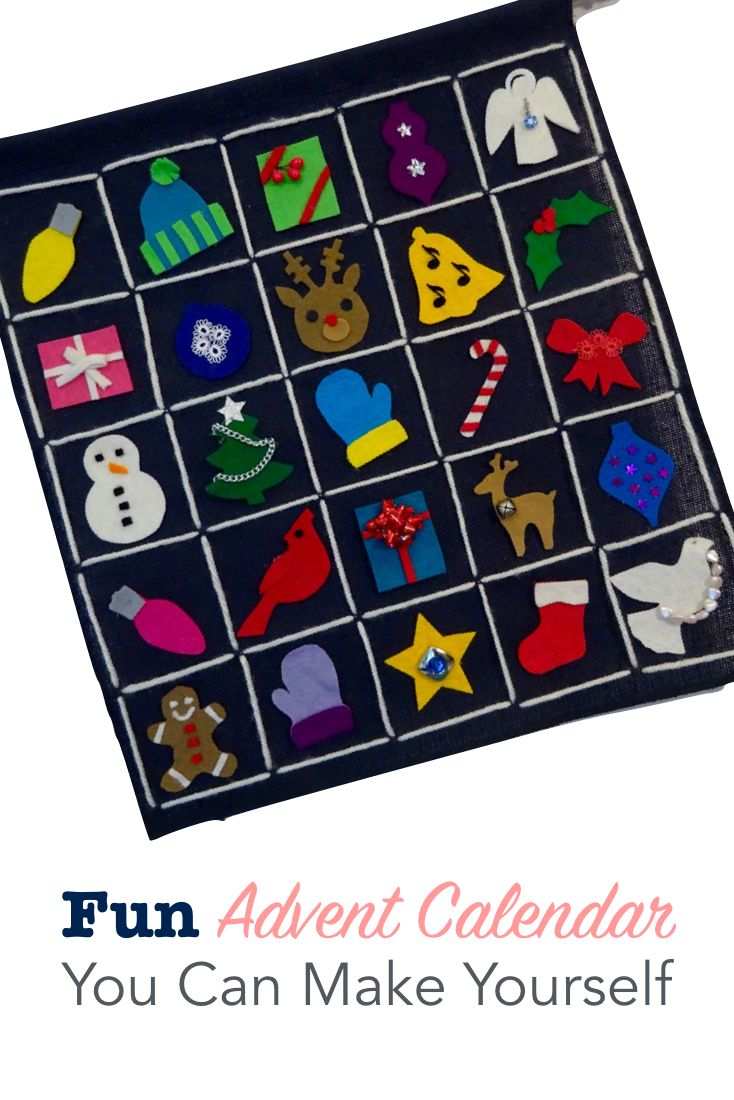 Fun advent calendar you can make yourself advent calendars get crafty with your countdown to christmas when you make your own advent calendar solutioingenieria Image collections