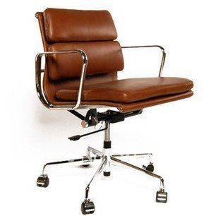 Chaise De Bureau On Aliexpress Com From 799 0 Eames Office Chair Leather Office Chair Brown Leather Office Chair