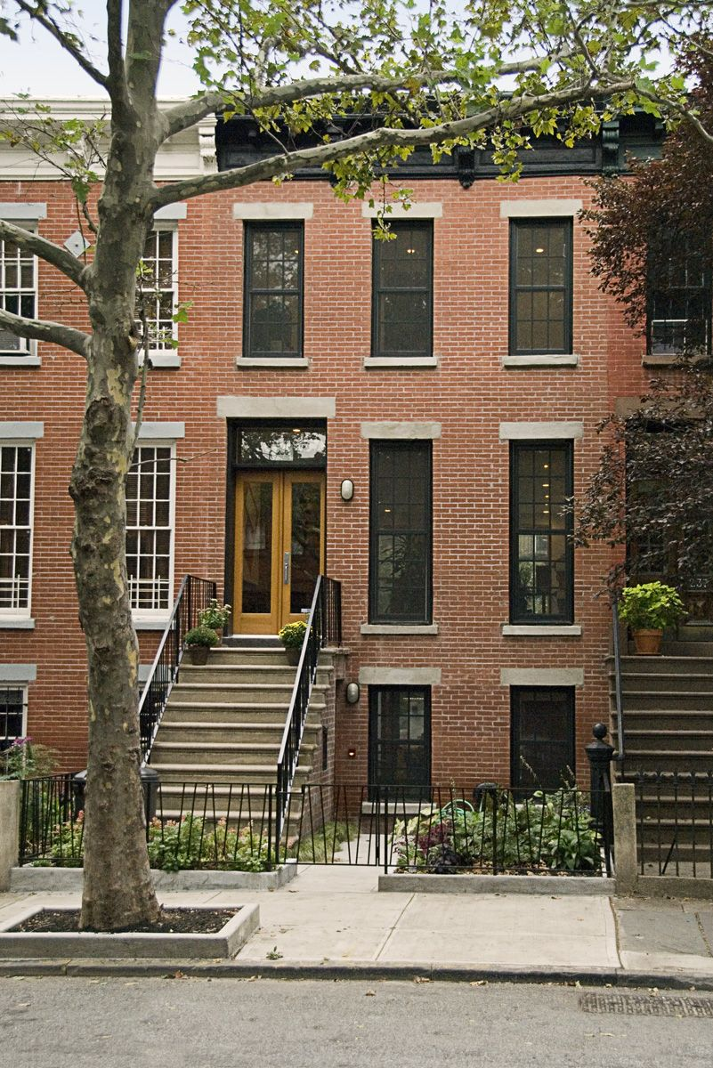 Traditional brownstone in brooklyn heights with contemporary - Brooklyn Row House Google Search